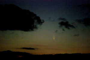 Comet Pan-STARRS 3/14/13 from Salt Cay, Turks and Caicos Islands